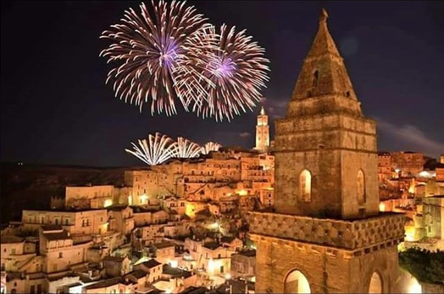 fuochi d'artificio matera