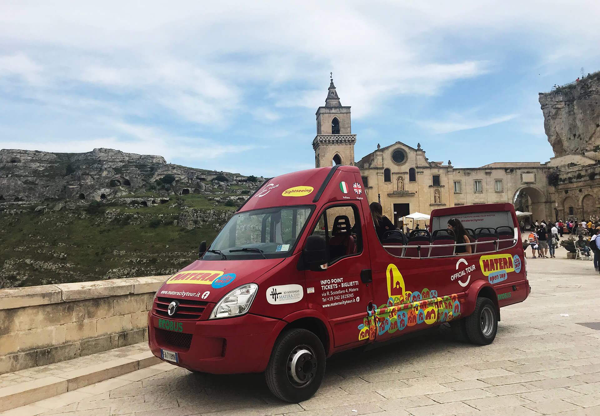 Sightseeing Bus - Tour Sassi of Matera